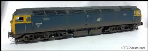 Bachmann 32-803 TTC A Class 47 47058 - SOUND FITTED , Expertly Renumbered & Weathered ABC Workshops